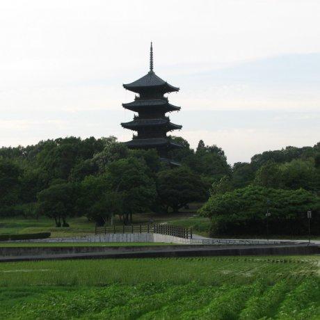 Bitchu Kokubunji and Pagoda