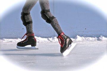 Sora x Niwa Ice Skating in Ginza