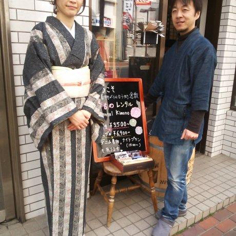 Rental Kimonos in Historic Kurashiki City