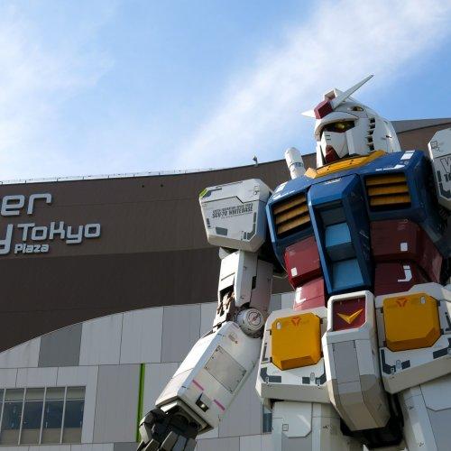 Gundam Statue & Gundam Front Tokyo