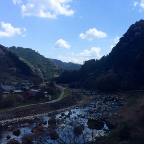 Tsuetate Hot Springs in Kyushu