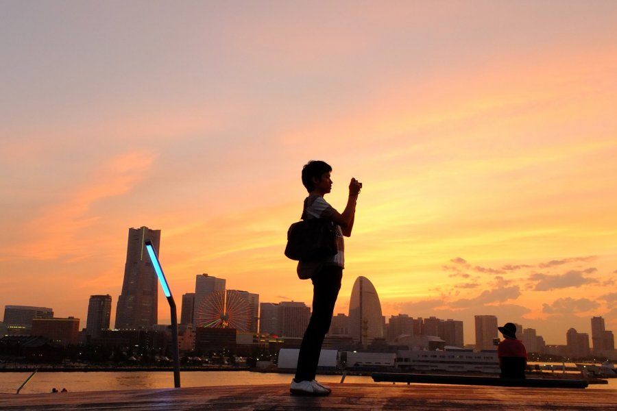 Yokohama's Most Romantic Spot Is...