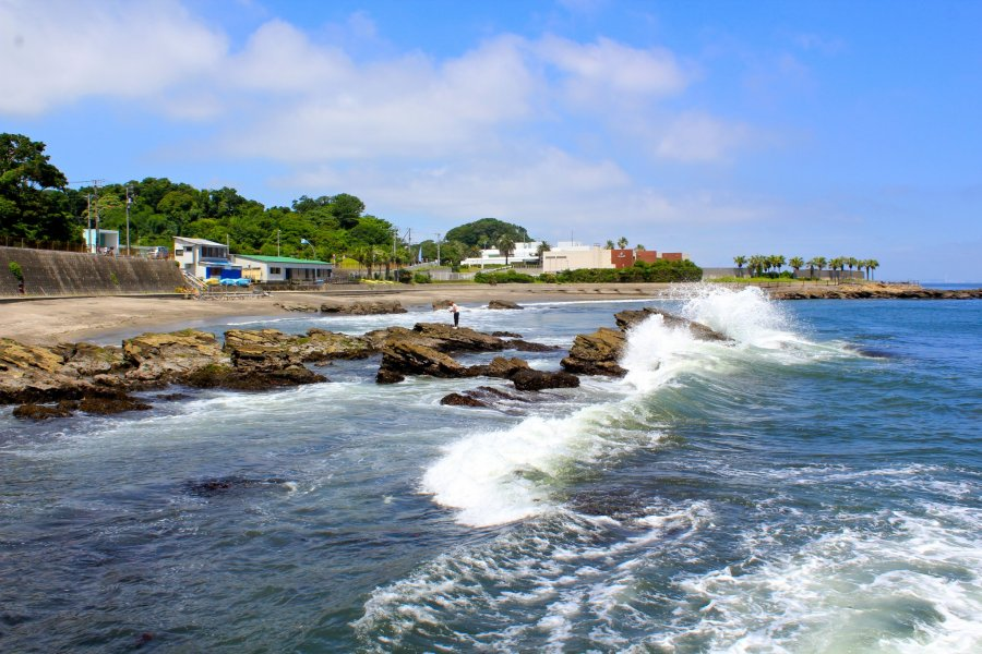 Beaches near Yokosuka Naval Base