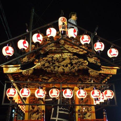Exciting Yatai Matsuri Festival