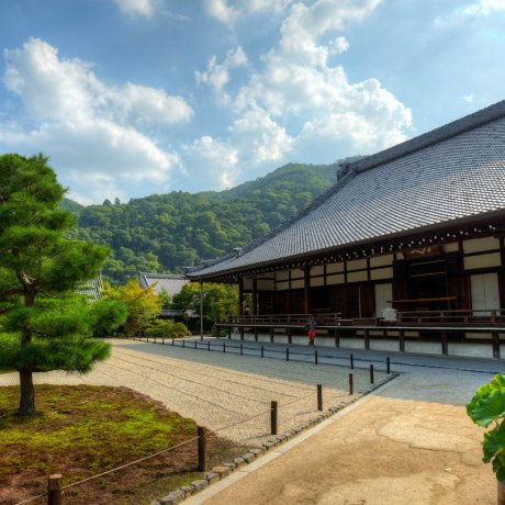Tenryu-ji Temple in Summer