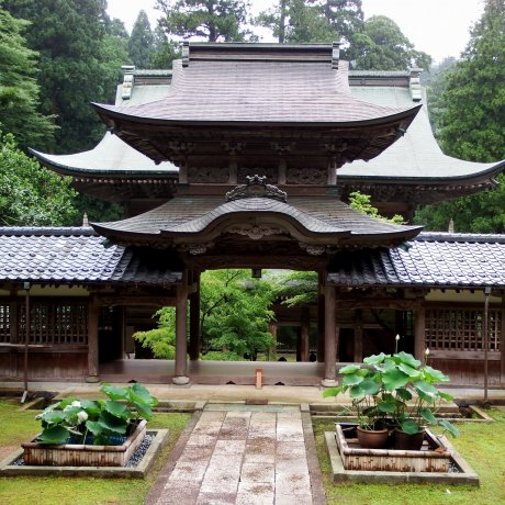 Classic Gate of Eiheiji Temple