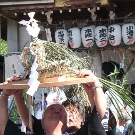 Summer Festival in Honmoku, Yokohama