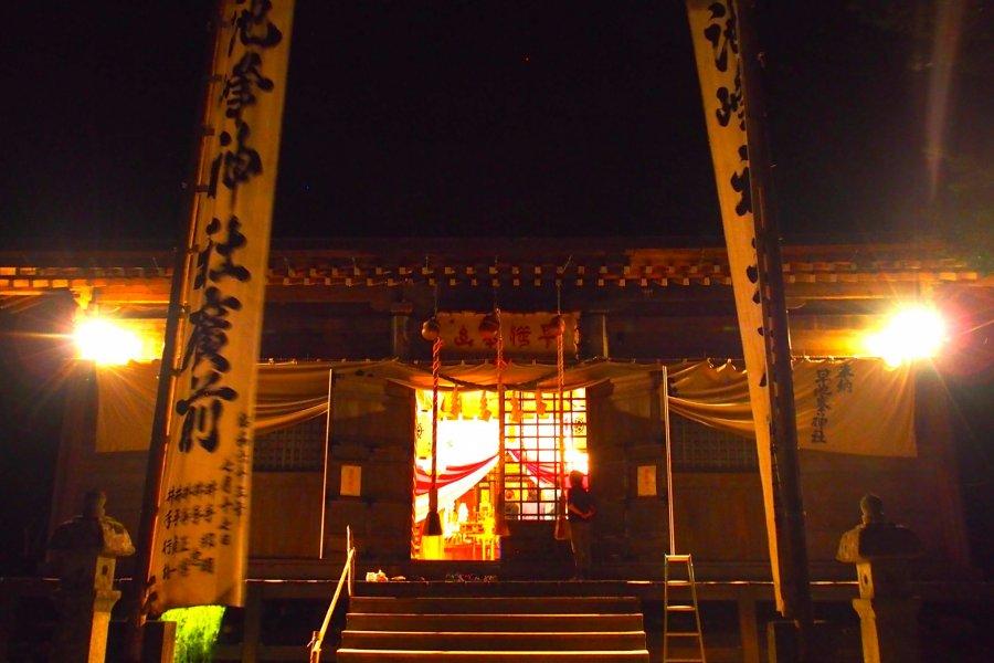 Hayachine Kagura in Tono