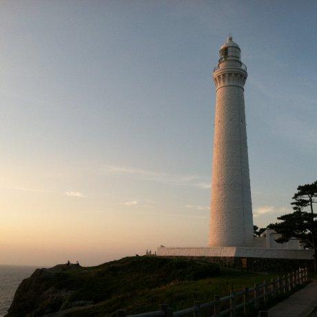 Sunset at Hinomisaki Lighthouse