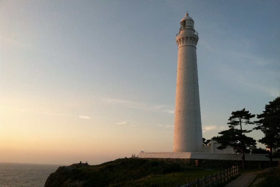 Sunset at Hinomisaki Lighthouse