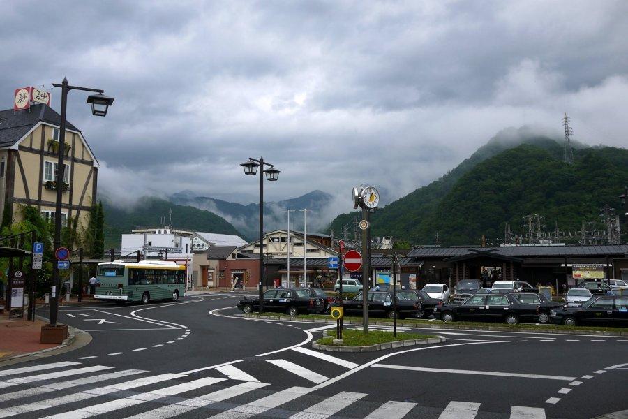 Otsuki Station in Yamanashi