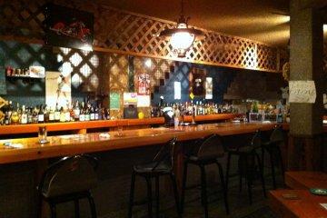 Bardega Bar in Hitachi city