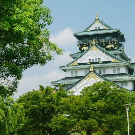 Osaka Castle in Summer