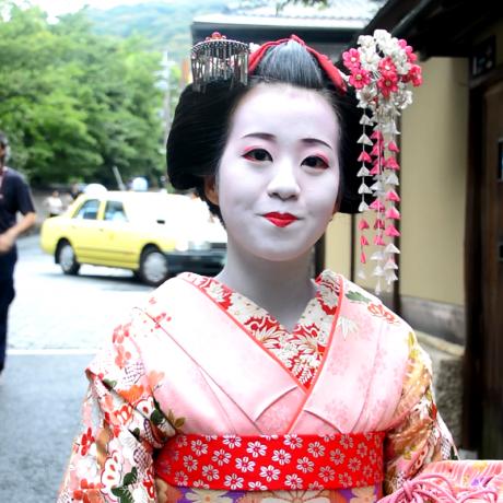 Konnichiwa & Sayonara in Japan