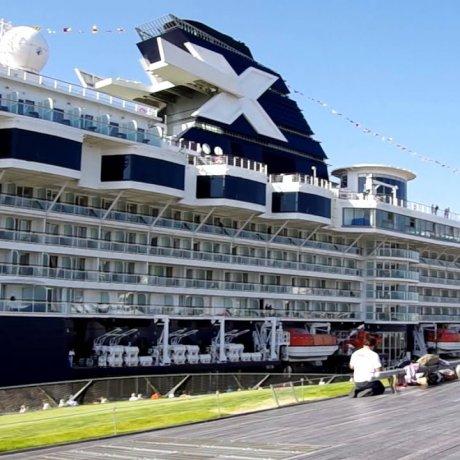 Celebrity Millennium at Yokohama