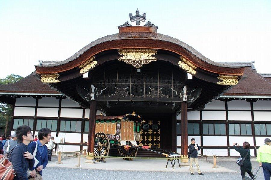 A Walk at Kyoto Imperial Palace - 1