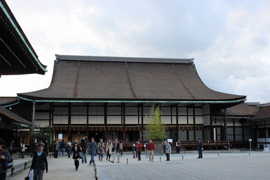 A Walk in Kyoto Imperial Palace - 3
