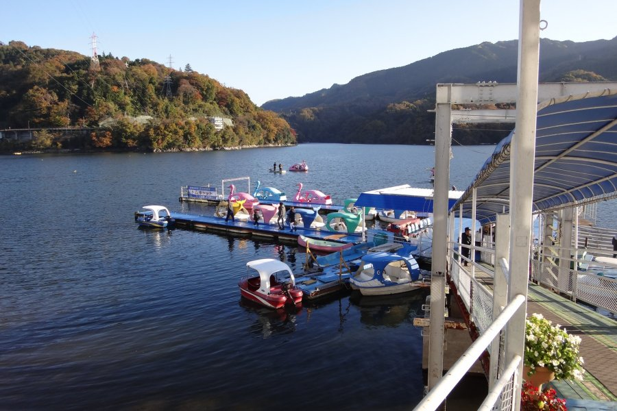 Boat Ride at Lake Sagami