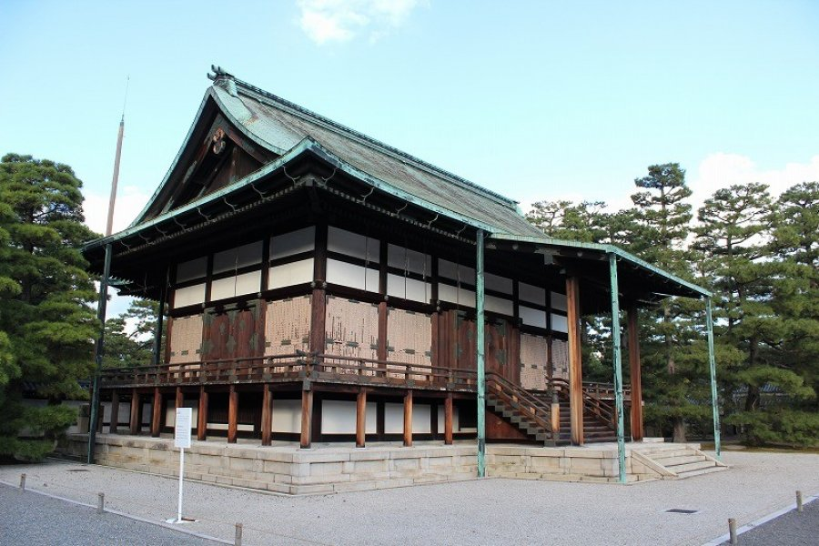 A Walk in Kyoto Imperial Palace - 4
