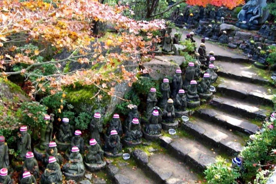 The 500 Rakan Statues, Miyajima