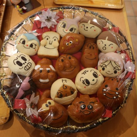 Adorable Food at Anpanman Museum