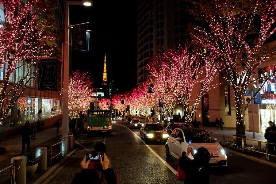 Roppongi Midtown Illumination