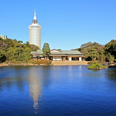 Mihama-en Japanese Garden in Chiba