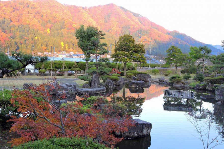 Echizen Ajimano-en Park in Autumn