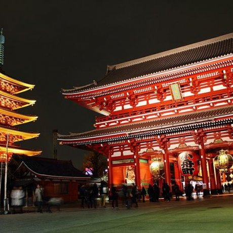 The Sublime Sensoji Temple