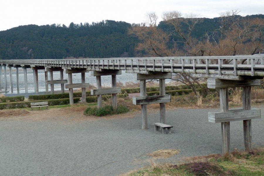 Horai Bridge in Shimada