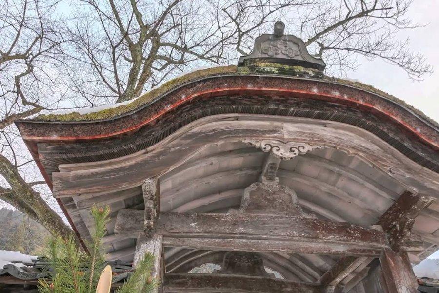Ichijodani Asakura Ruins in Snow