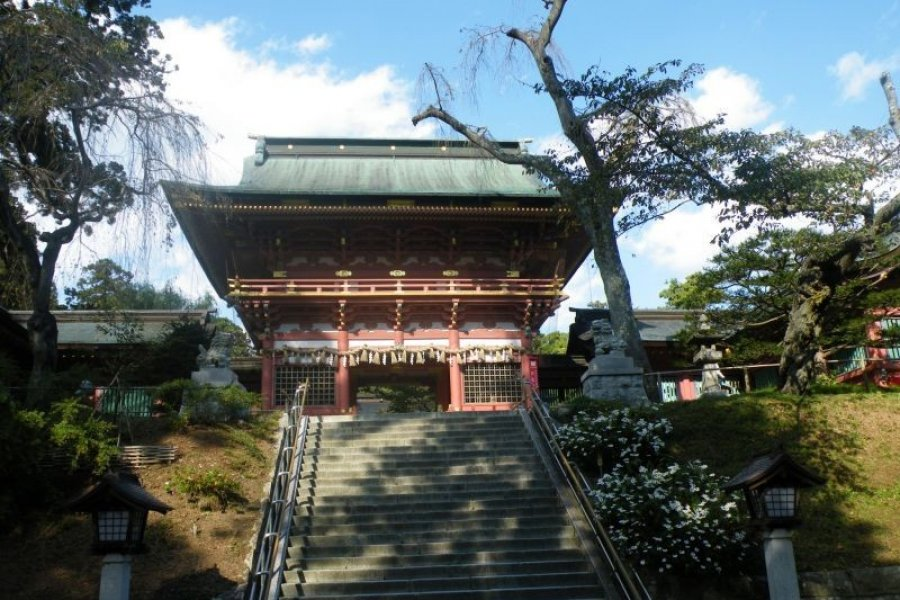 The Beauty of Shiogama Shrine