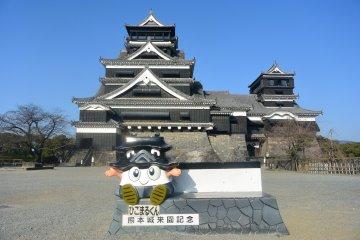 Exploring Kumamoto Castle