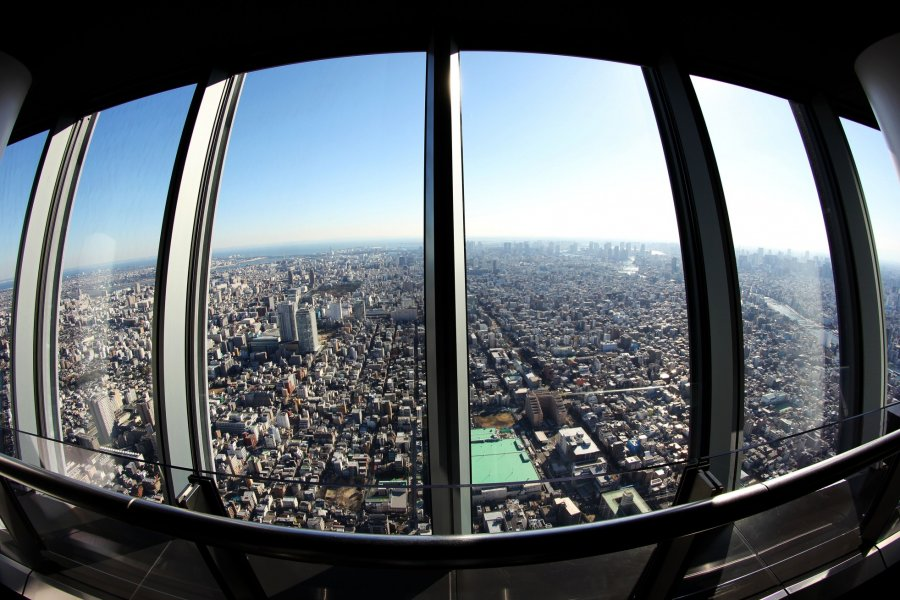 Tokyo Skytree is for Couples