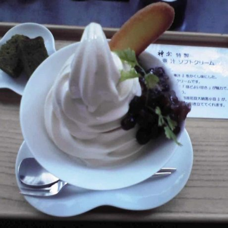 Kansou Seaweed Ice Cream