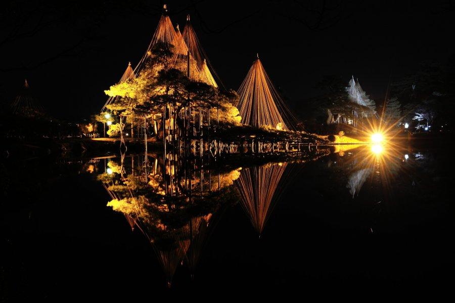 Symmetrical Beauty at Kenrokuen