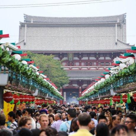 A Brief Glimpse of Senso-ji