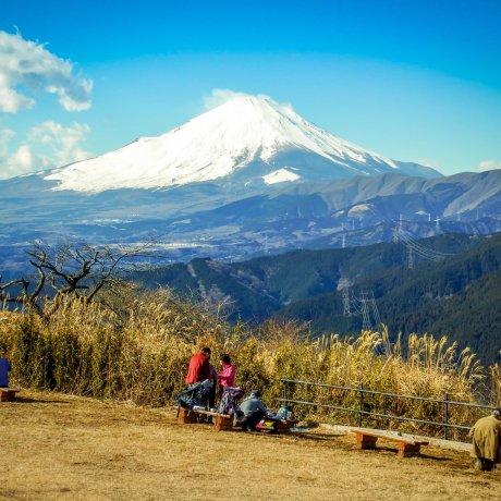 Hiking Mt Ono with Views of Mt Fuji
