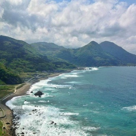 Sado's Dramatic Sotokaifu Coastline