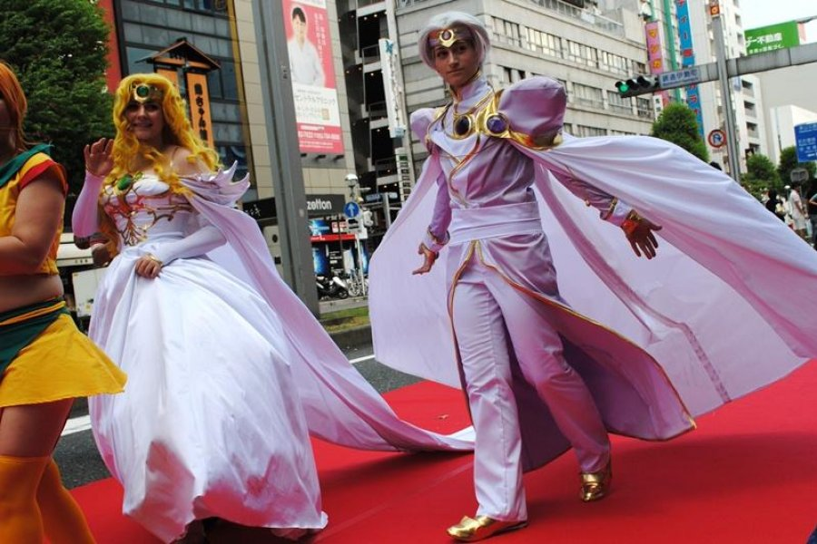 World Cosplay Red Carpet Parade