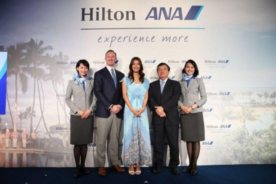 Partnership Between Hilton and ANA