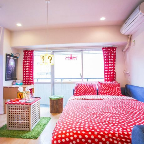 Mario-Themed Apartment in Tokyo