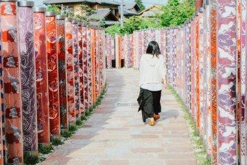 The Kimono Forest Of Arashiyama