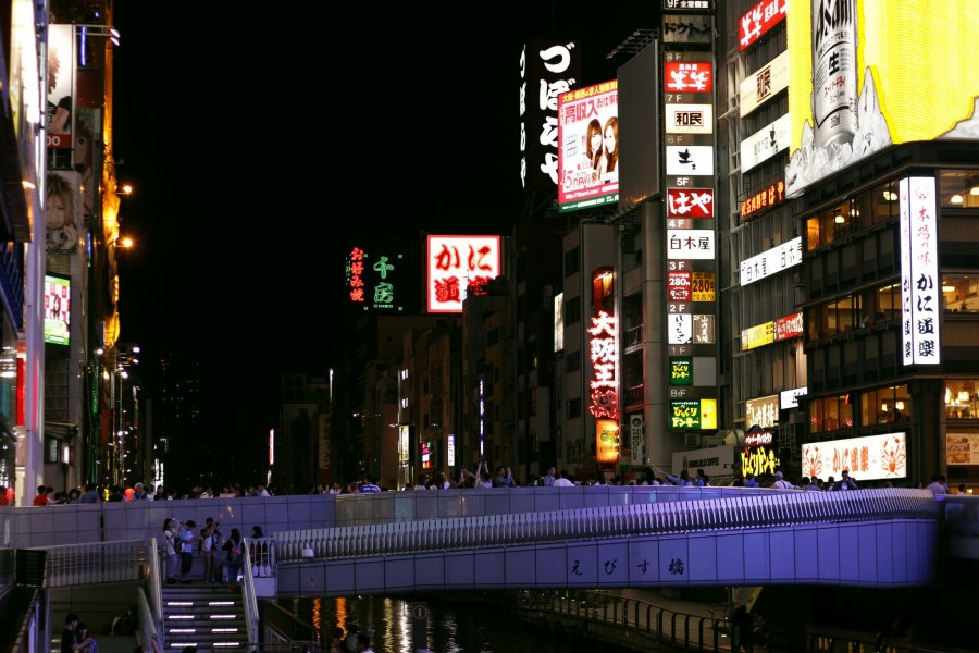 Shinsaibashi-suji and Dotonbori