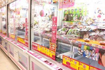 Anime-themed Game Center in Akihabara
