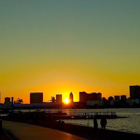 Odaiba Waterfront Sunset