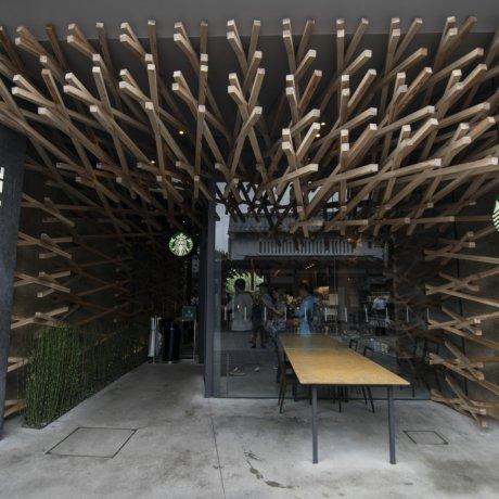 Starbucks Dazaifu by Kengo Kuma