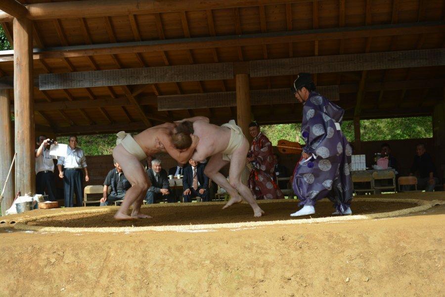 Amateur Sumo Tournament in Tohoku