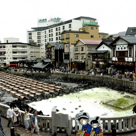 Get into Hot Water at Kusatsu Onsen