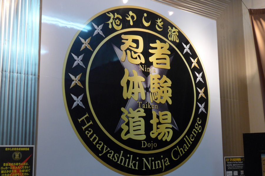 Ninja Training at Hanayashiki